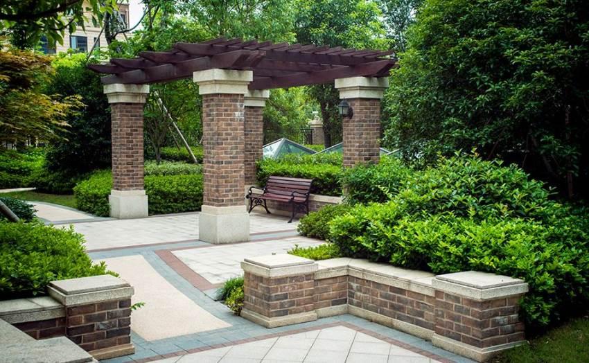 園林風格_歐式風格_園林景觀設計|別墅花園設計|陽臺花園設計|屋頂